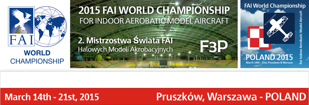 F3P Indoor World Championship 2015